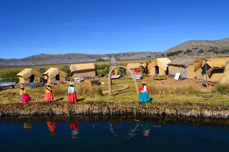 Best of Peru Uros Floating Islands