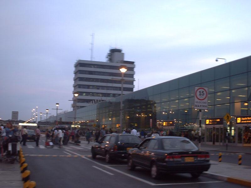 Ecuador and Peru Lima International Arrivals